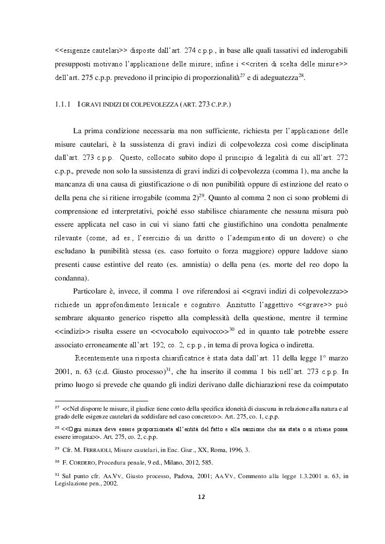 Anteprima della tesi: Il requisito dell'attualità nelle nuove misure cautelari: l'importanza della legge 16 aprile 2015 n. 47, Pagina 7