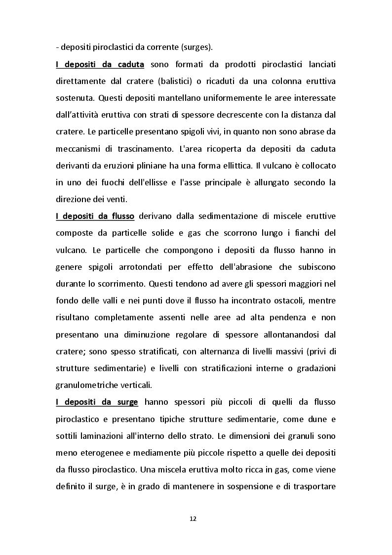 Estratto dalla tesi: Definizione di curve caratteristiche resistività-contenuto d'acqua di terreni piroclastici dei versanti del Mt. Faito (C/mmare di Stabia, Napoli)