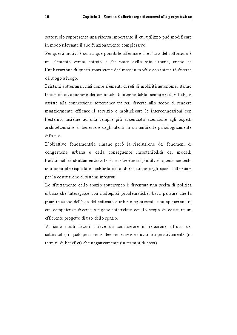 """Estratto dalla tesi: Analisi di stabilità di gallerie scavate mediante TBM EPB: """"il caso della nuova linea metropolitana di Catania"""""""