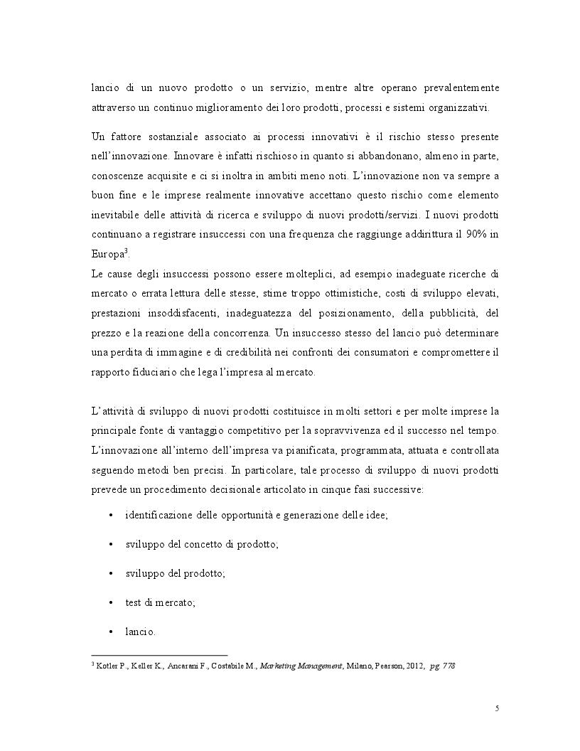 Anteprima della tesi: Lancio di un nuovo prodotto: il caso di studio Machaby Gin, Pagina 4