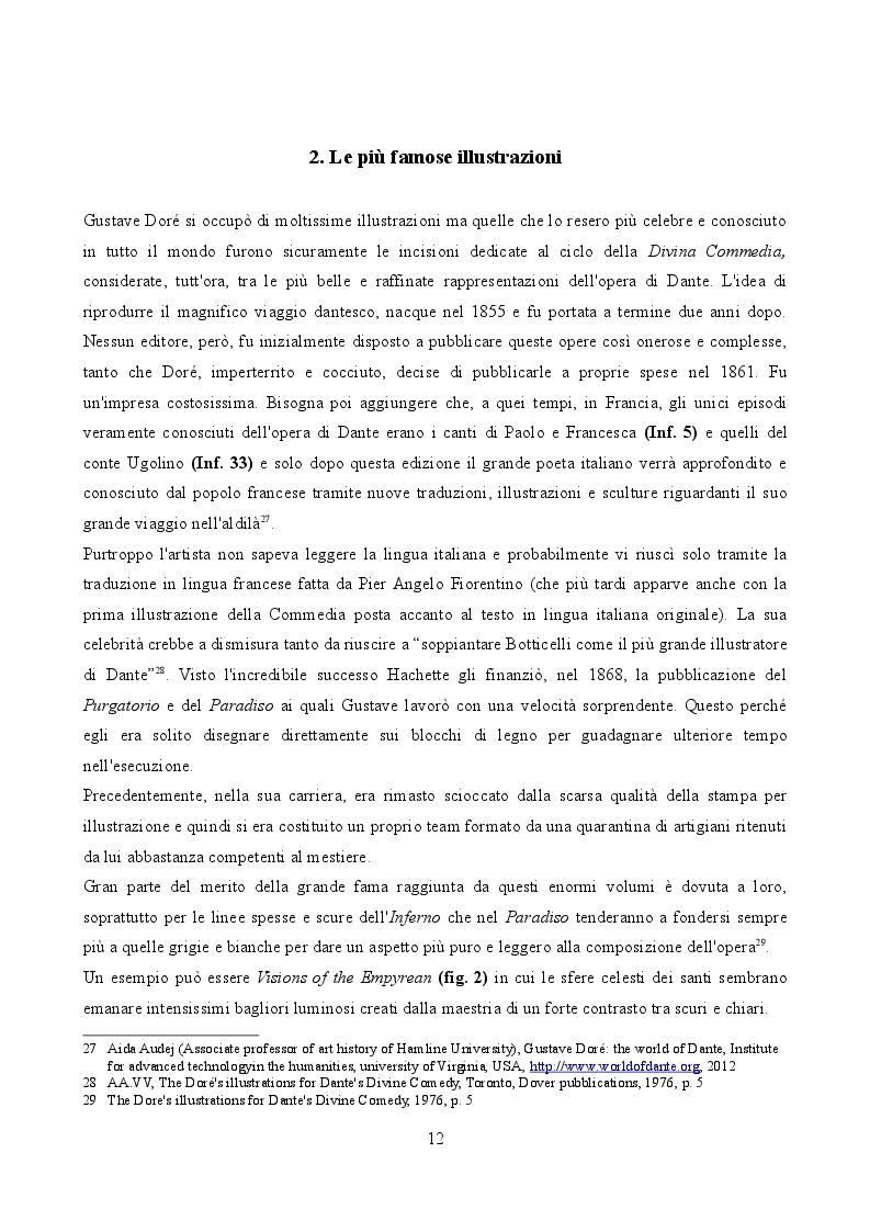 Estratto dalla tesi: Gustave Doré illustratore della Ballata del Vecchio Marinaio di S.T Coleridge