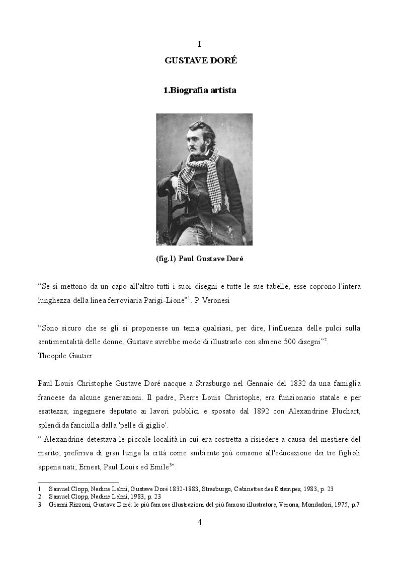 Anteprima della tesi: Gustave Doré illustratore della Ballata del Vecchio Marinaio di S.T Coleridge, Pagina 3