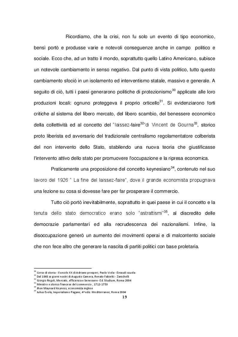 Estratto dalla tesi: La politica economica a Cuba dalla rivoluzione ad oggi: la sconfitta dell'economia pianificata