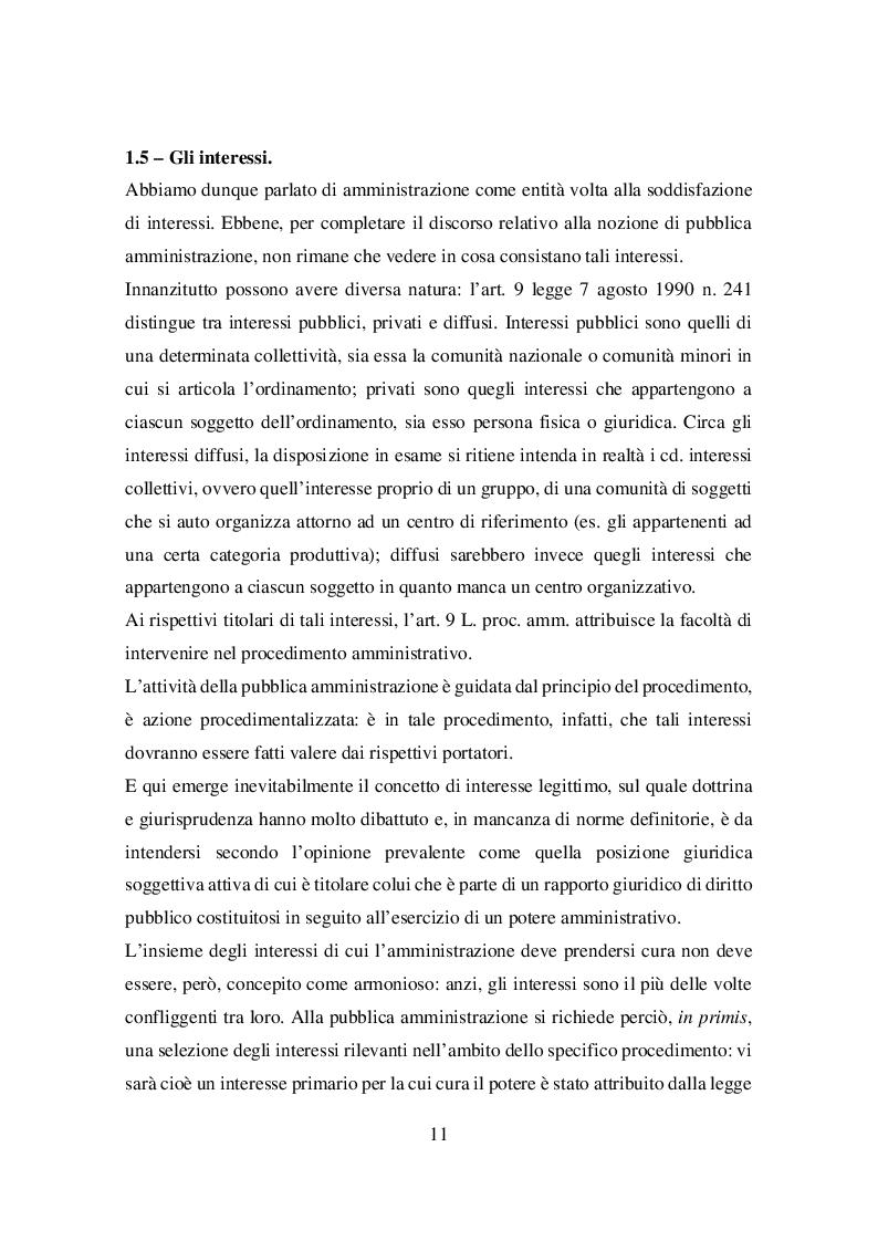 Estratto dalla tesi: Il principio di buon andamento ex articolo 97 della Costituzione: dal giuridicamente irrilevante all'amministrazione di risultato