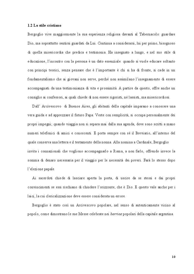 """Estratto dalla tesi: Papa Francesco: la concezione del Creato e dell'essere umano nell'Enciclica """"Laudato Sì"""""""