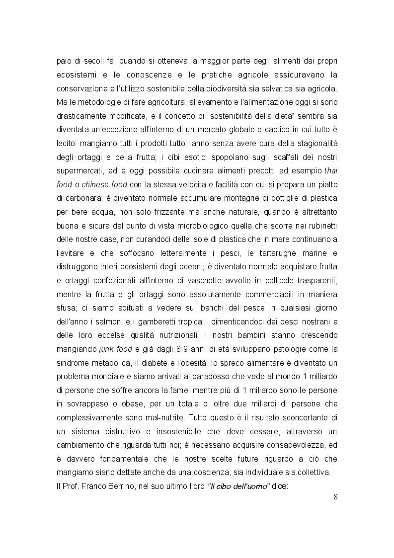 Anteprima della tesi: La dieta sostenibile per l'ambiente, Pagina 3