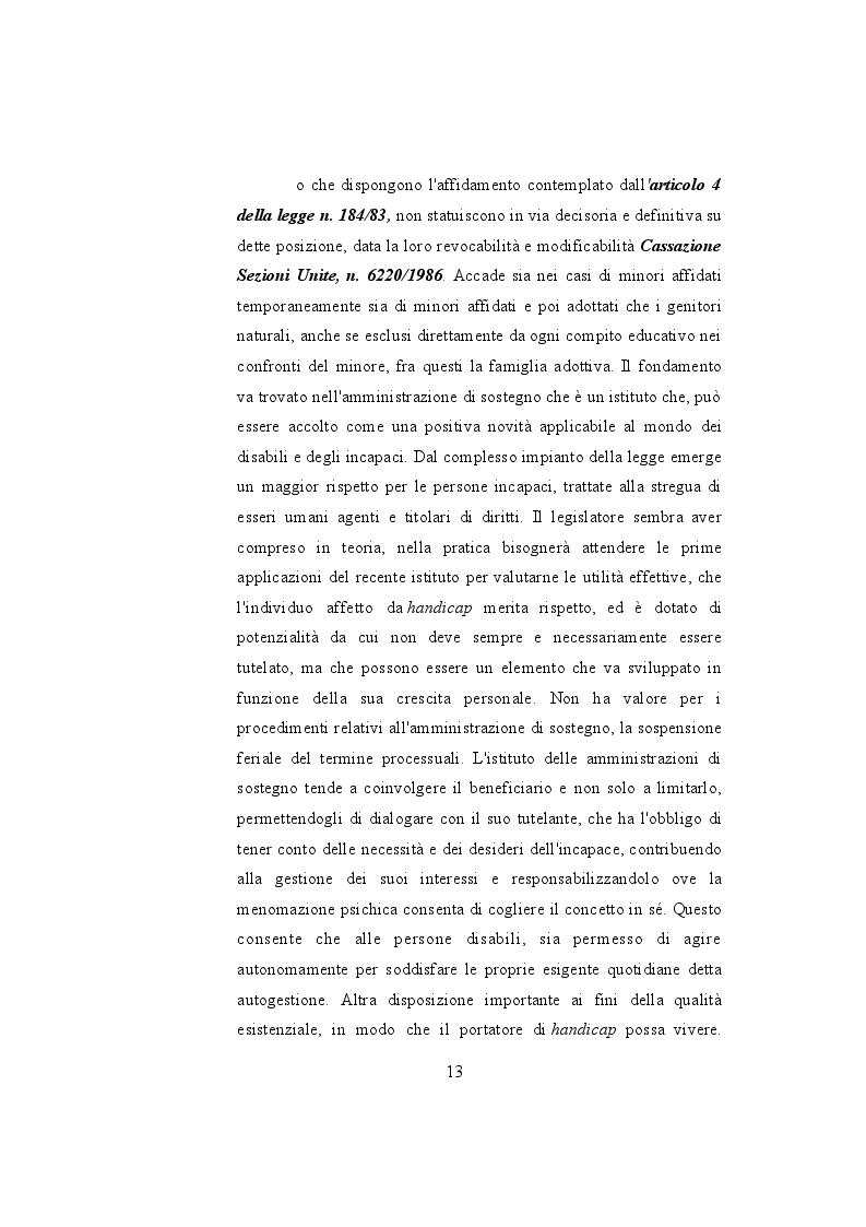 Estratto dalla tesi:       Le adozioni nel diritto di famiglia: Profilo giuridico-fiscale, commerciale.