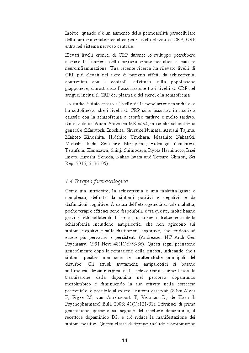 Estratto dalla tesi: Disorganizzazione del pensiero e funzionamento sociale: una indagine sui processi cognitivi in un campione di soggetti schizofrenici