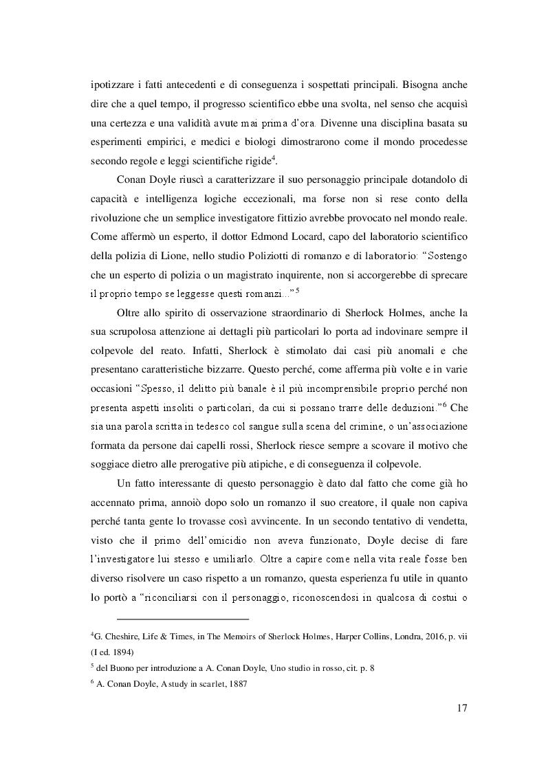 Estratto dalla tesi: Comparazione delle traduzioni del romanzo ''Uno studio in rosso''