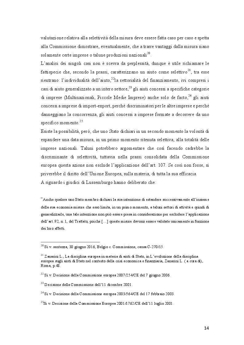 Estratto dalla tesi: Gli aiuti di Stato al trasporto ferroviario nell'Unione Europea