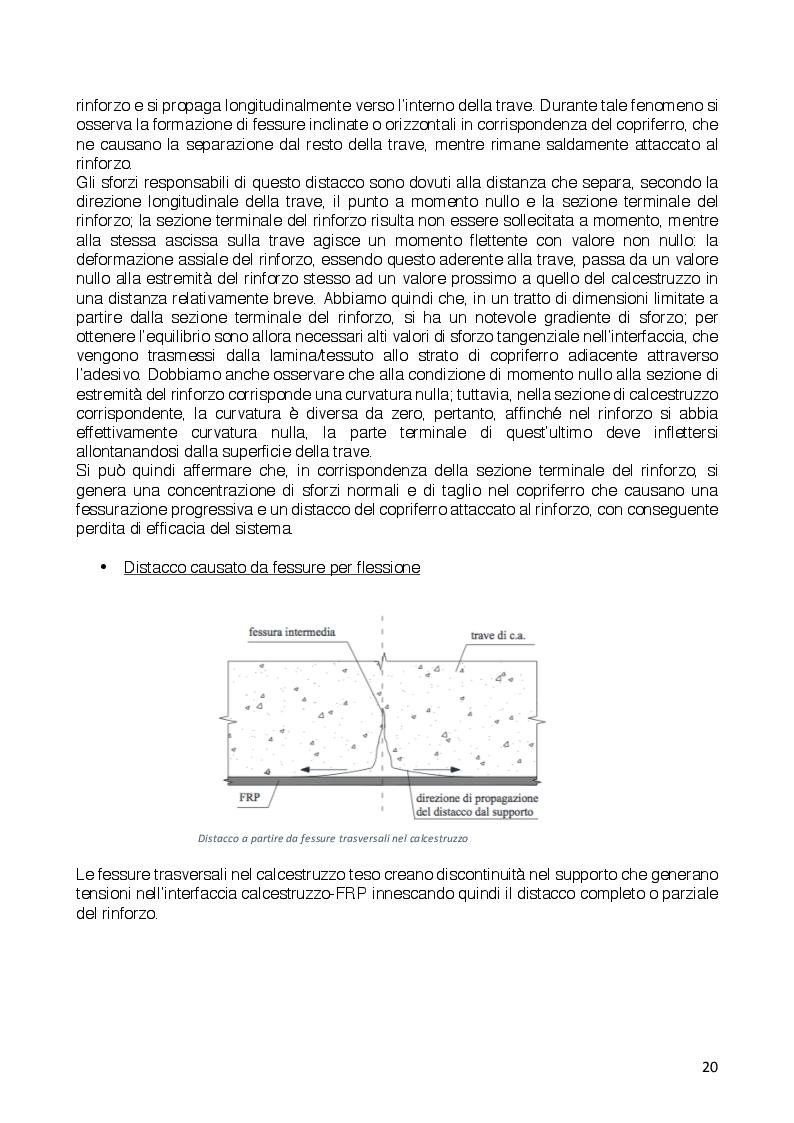 Estratto dalla tesi: Rinforzo di un telaio in calcestruzzo armato con FRP