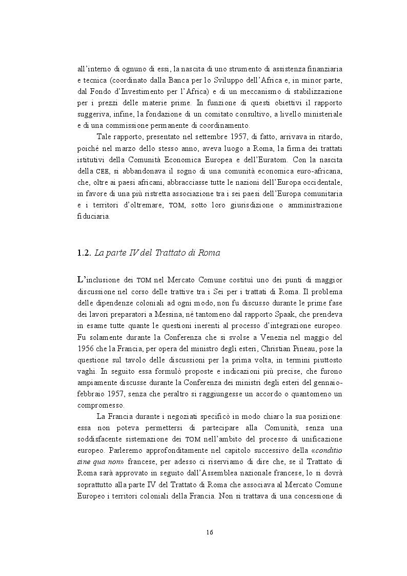 Estratto dalla tesi: La politica di cooperazione comunitaria negli Stati ACP: particolarità e limiti di un modello associativo.