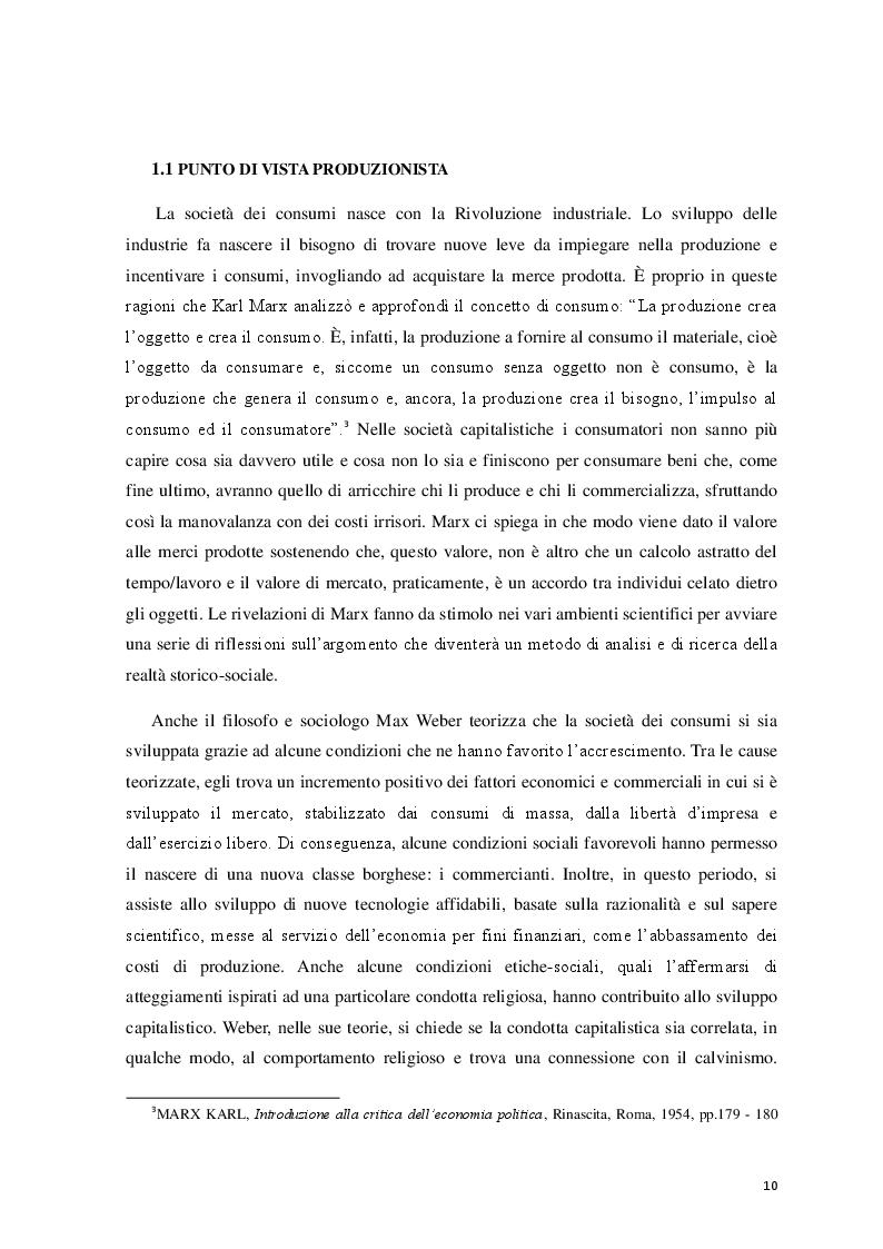 Anteprima della tesi: Logicità, permanenza e peculiarità del consumismo: aspetti antropologici e meccanismi psicologici, Pagina 6