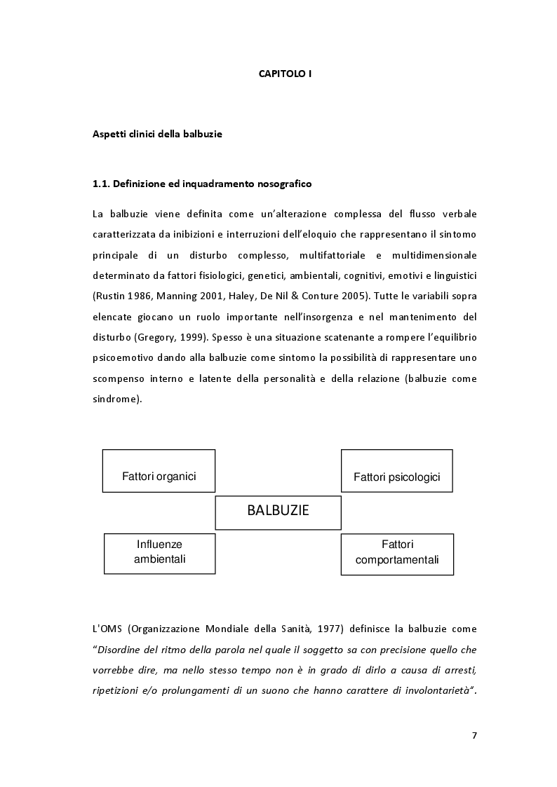 Anteprima della tesi: ''Parole in trappola'' - scacco alla balbuzie con l'approccio gestaltico ed analitico transazionale, Pagina 4