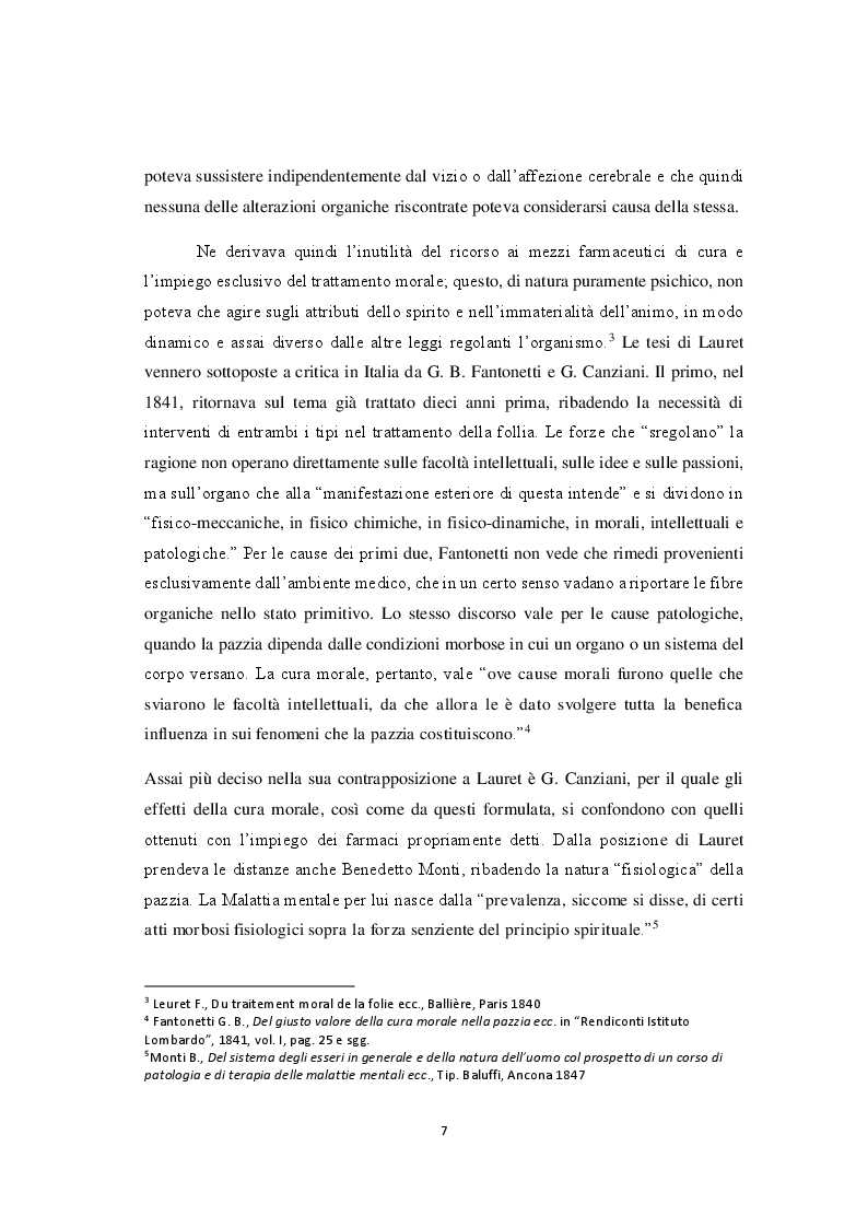 Anteprima della tesi: La riforma della sanità penitenziaria: il superamento dell'ospedale psichiatrico giudiziario e le prospettive pedagogico-educative, Pagina 8