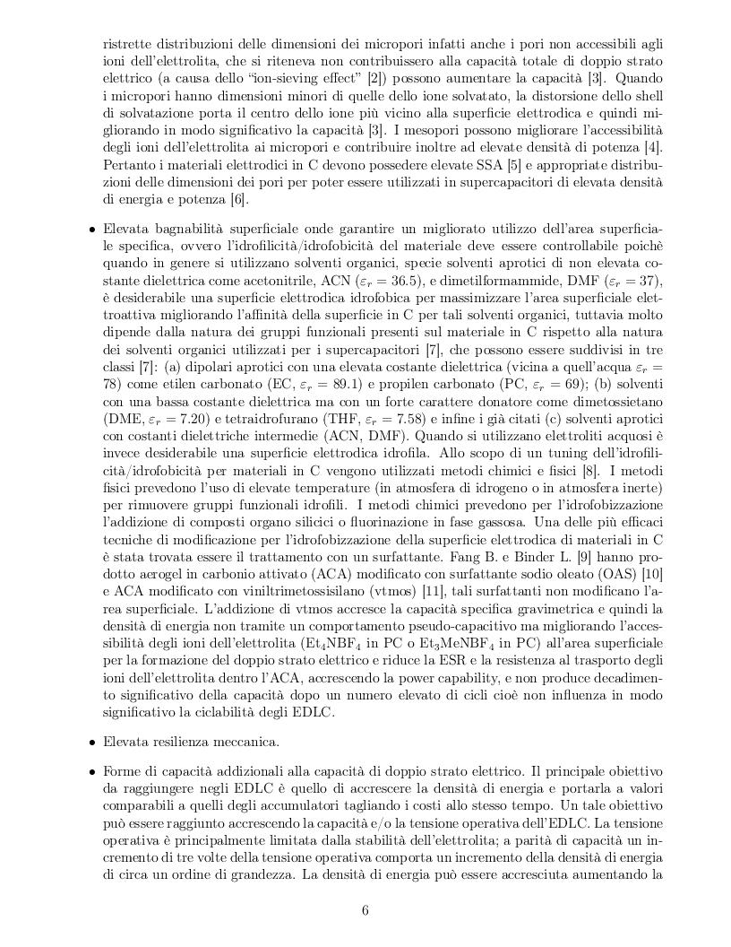 Anteprima della tesi: Impatto dei parametri strutturali e chimici sulle proprietà capacitive di nanotubi di carbonio, Pagina 3