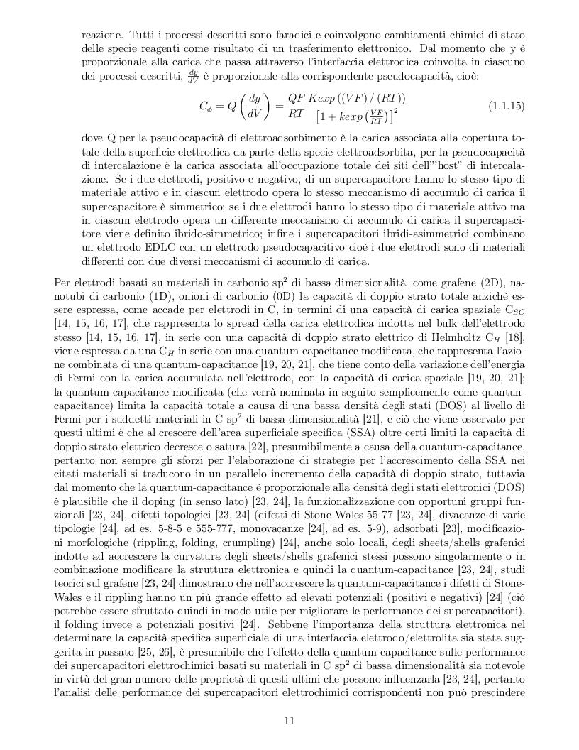 Anteprima della tesi: Impatto dei parametri strutturali e chimici sulle proprietà capacitive di nanotubi di carbonio, Pagina 8