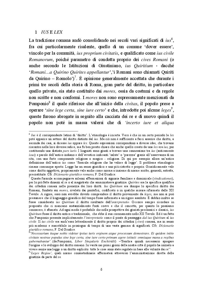 Anteprima della tesi: Fictio iuris, Pagina 6