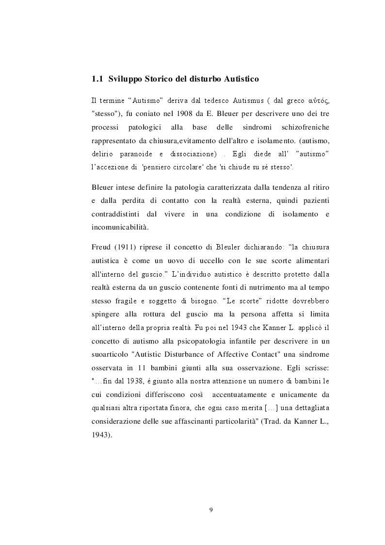 Anteprima della tesi: Fattori di Rischio Materni e Fetali nel Disturbo dello Spettro Autistico a Confronto con Altri Disturbi di Sviluppo, Pagina 6