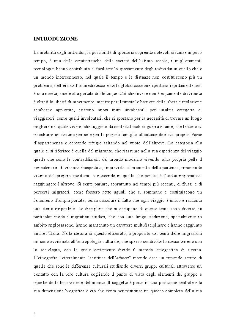 Anteprima della tesi: Libia come spazio di transito: la complessità del percorso migratorio, Pagina 2