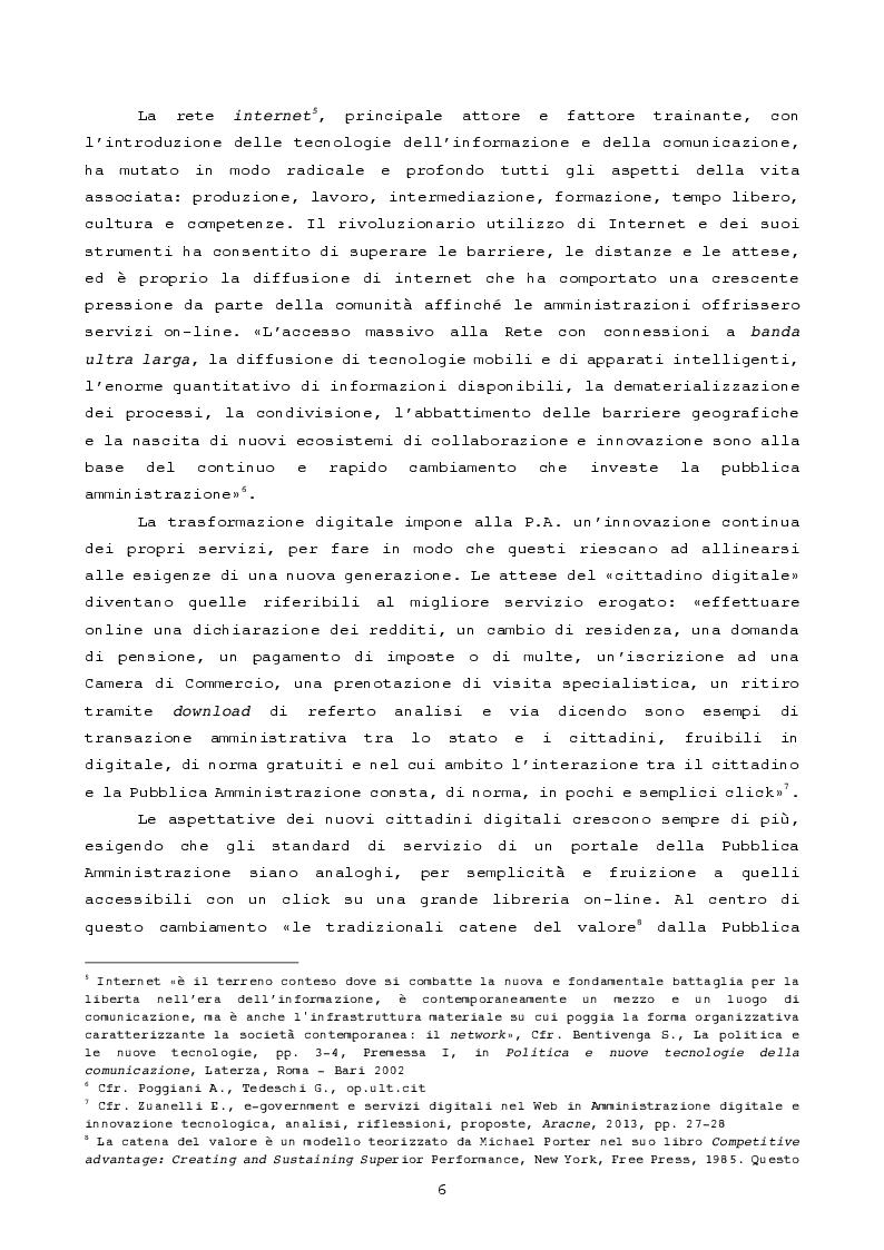 Anteprima della tesi: Pubblica amministrazione innovativa: Blockchain e prospettive di utilizzo , Pagina 3