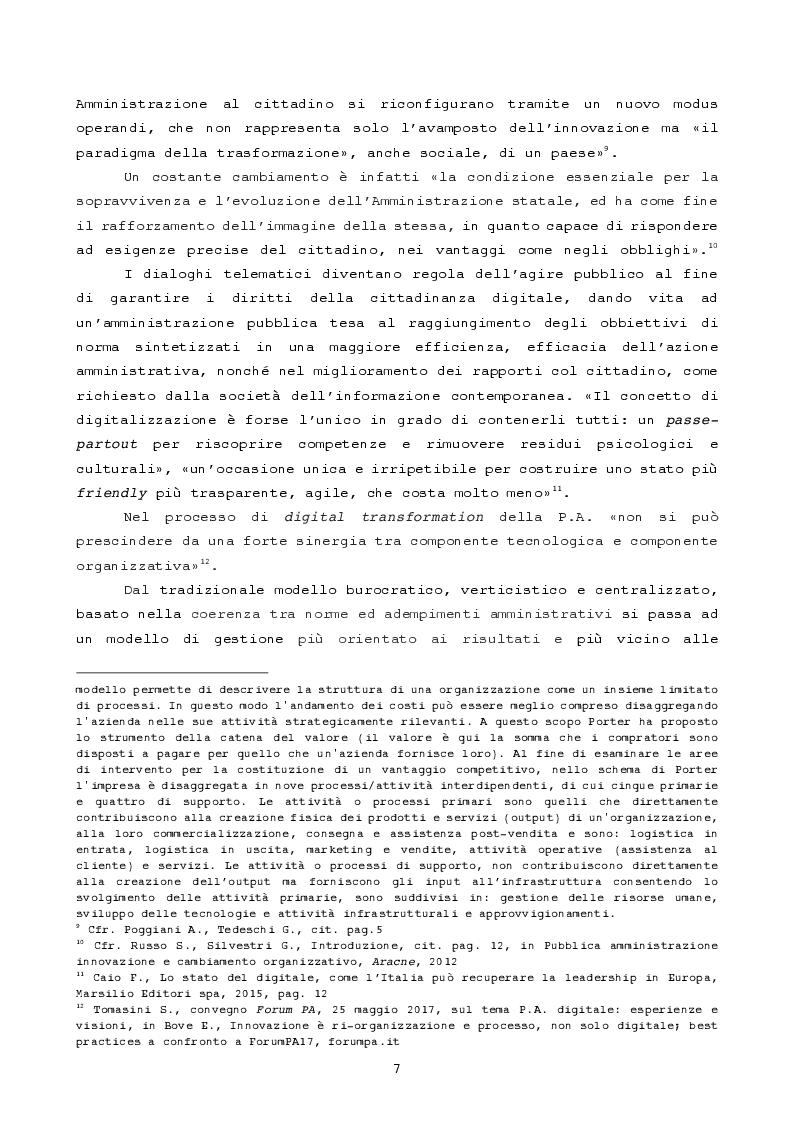 Anteprima della tesi: Pubblica amministrazione innovativa: Blockchain e prospettive di utilizzo , Pagina 4