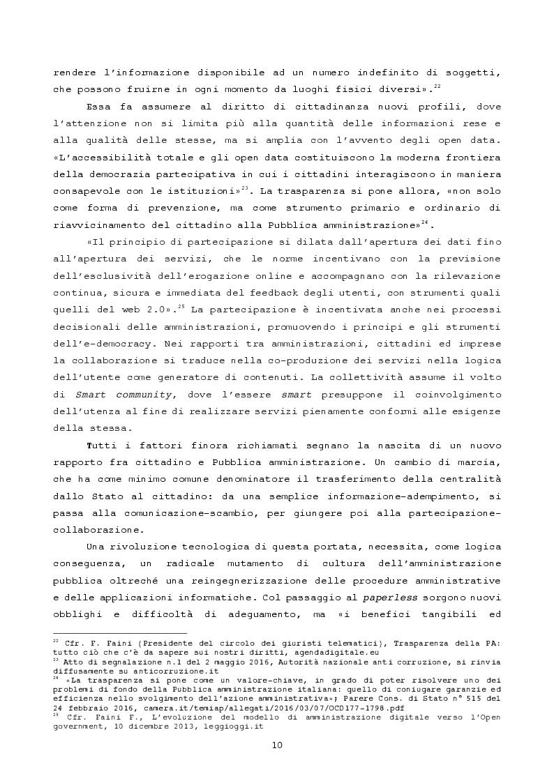 Anteprima della tesi: Pubblica amministrazione innovativa: Blockchain e prospettive di utilizzo , Pagina 7