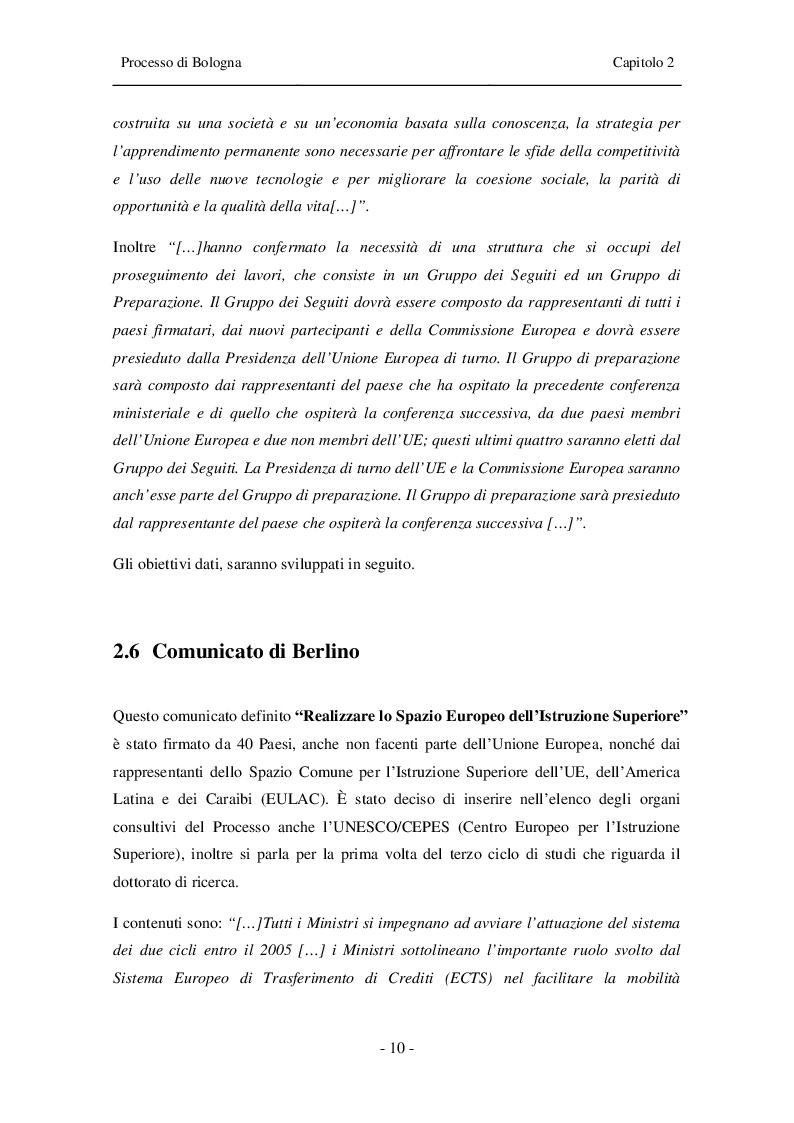 Estratto dalla tesi: Armonizzazione dei titoli di studio. Impatto sul mondo della musica