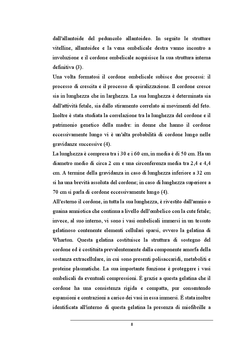 Anteprima della tesi: La donazione delle cellule staminali da cordone ombelicale: un gesto che salva la vita, Pagina 6