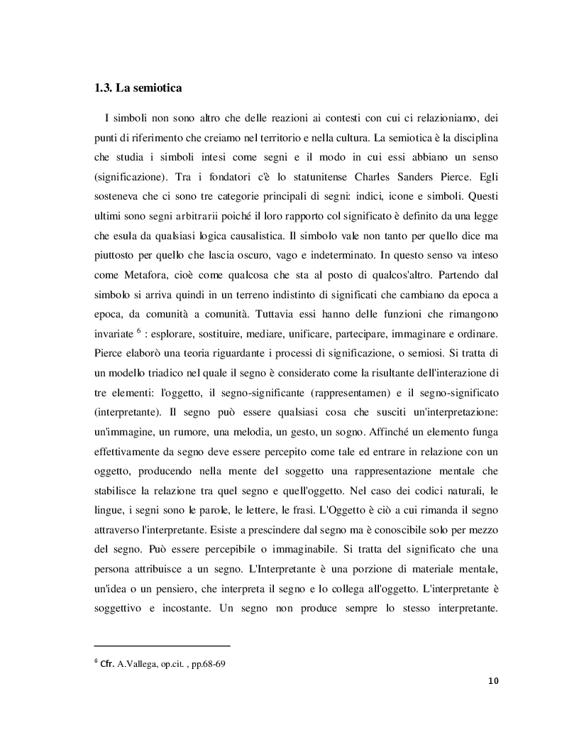 Estratto dalla tesi: Luoghi e Non-Luoghi, espressioni della cultura. Da Napoli a Nola