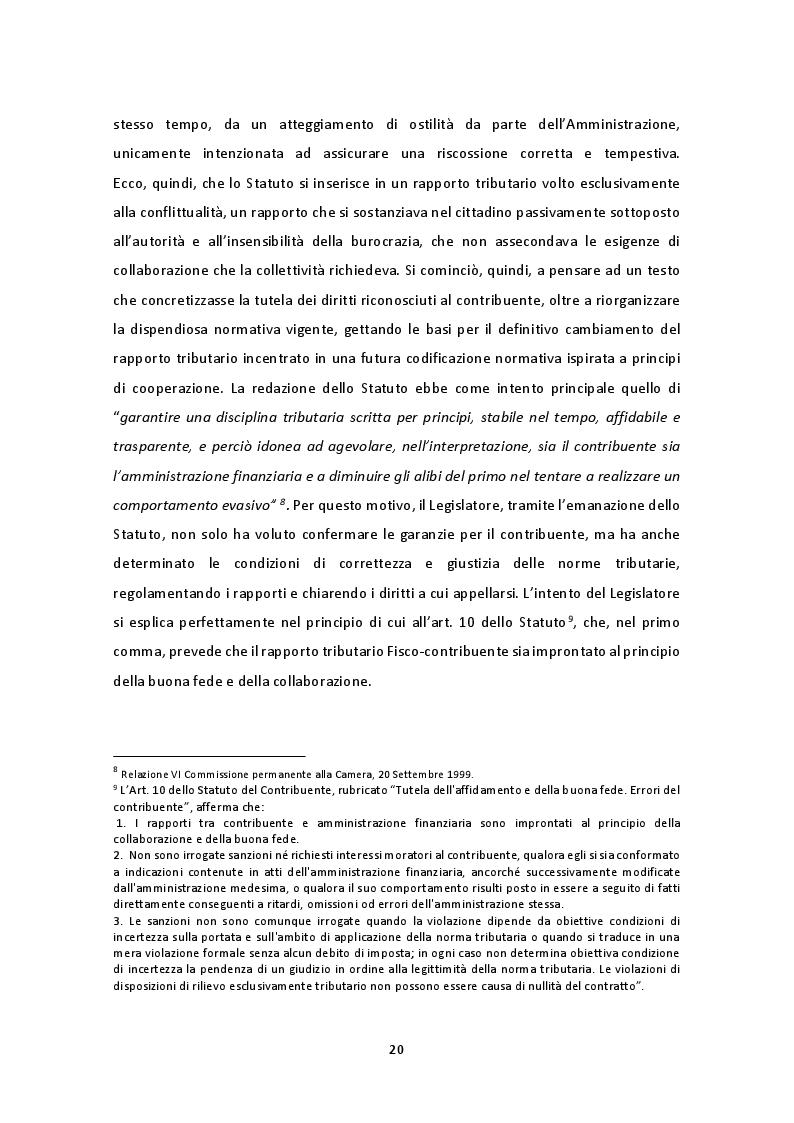 Estratto dalla tesi: Il nuovo regime di adempimento collaborativo