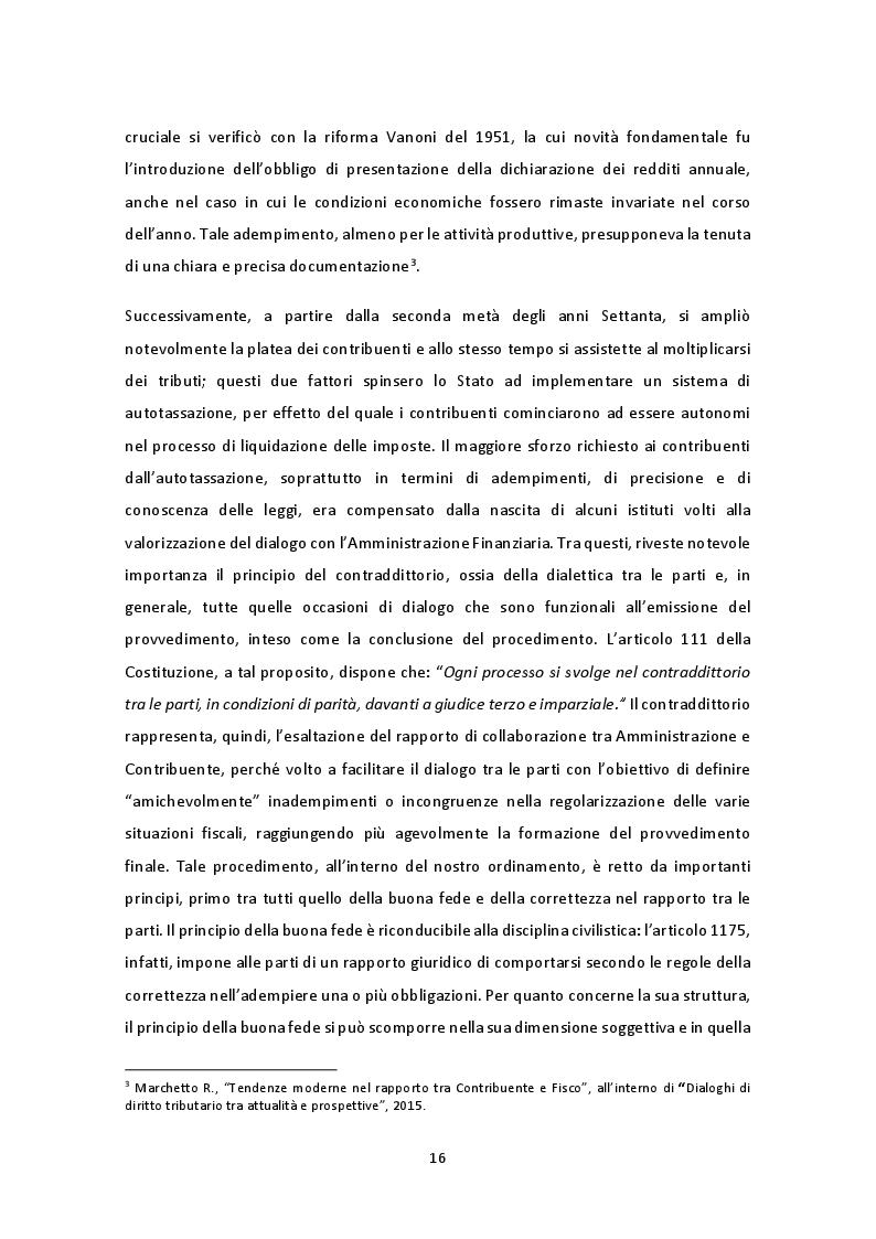 Anteprima della tesi: Il nuovo regime di adempimento collaborativo, Pagina 10