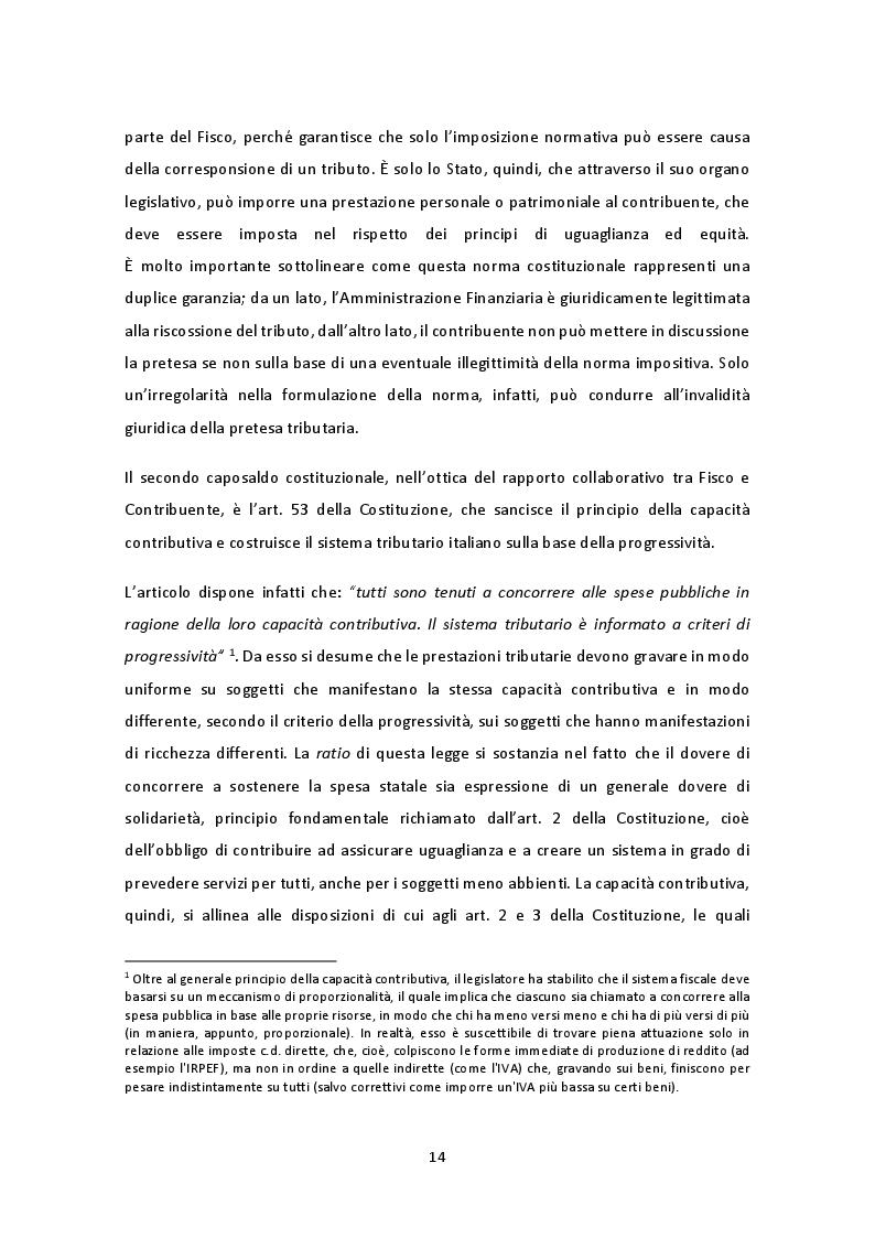 Anteprima della tesi: Il nuovo regime di adempimento collaborativo, Pagina 8
