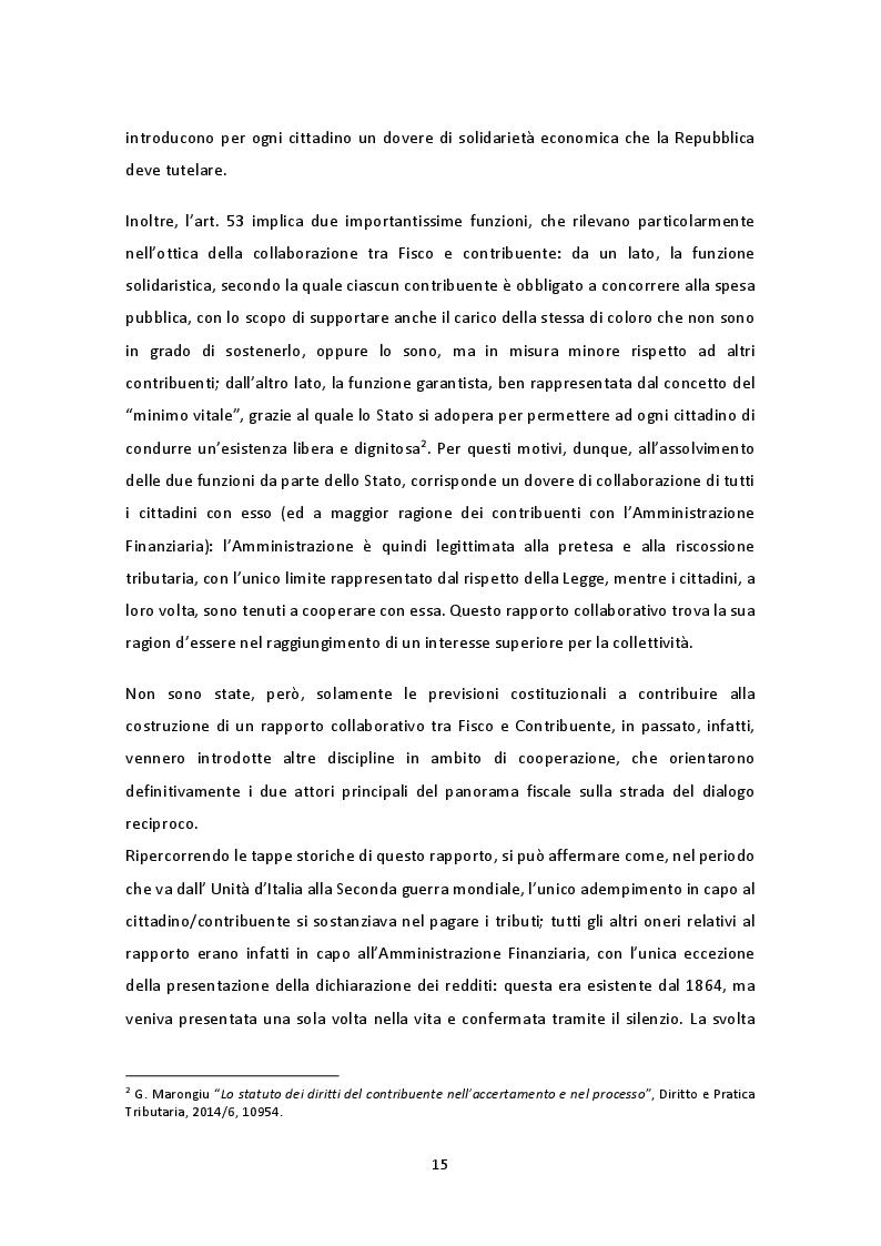 Anteprima della tesi: Il nuovo regime di adempimento collaborativo, Pagina 9