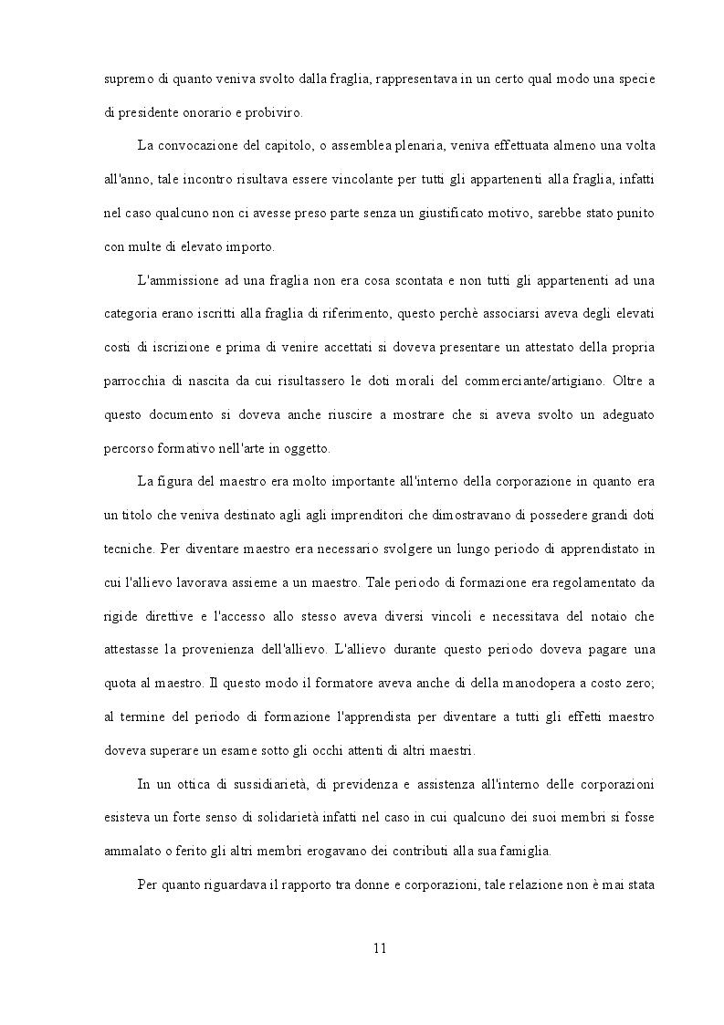 Estratto dalla tesi: Storia delle principali e più rappresentative associazioni di categoria italiane
