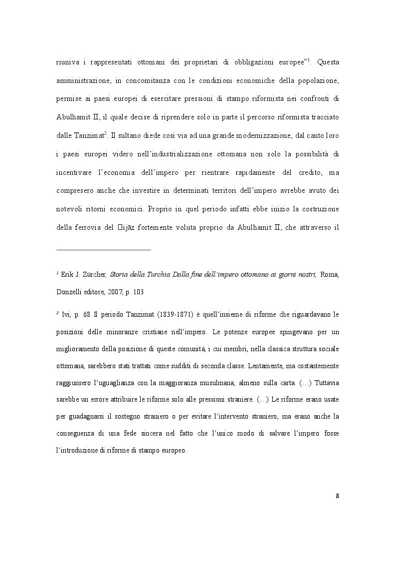 Anteprima della tesi: Storia della Turchia tra laicismo e islamizzazione, Pagina 5
