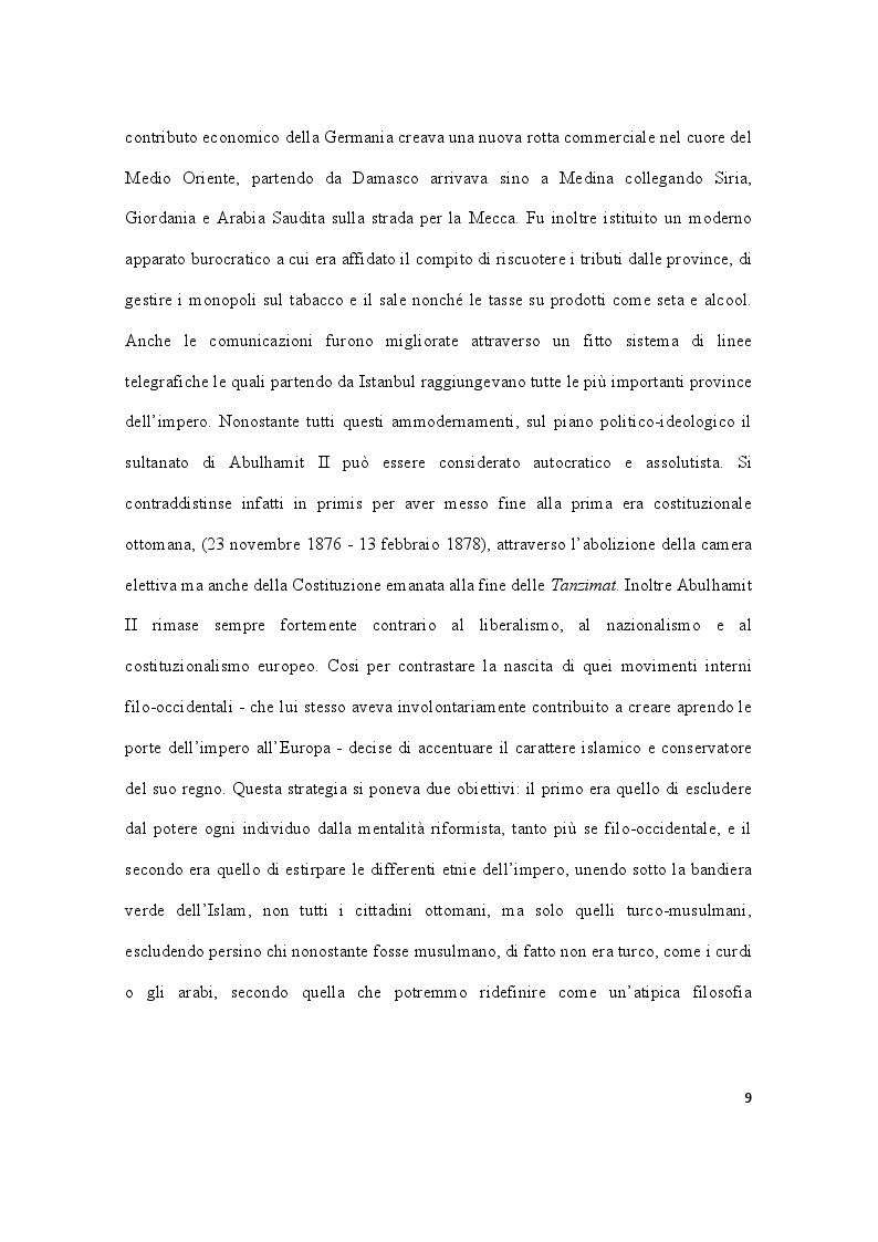 Anteprima della tesi: Storia della Turchia tra laicismo e islamizzazione, Pagina 6