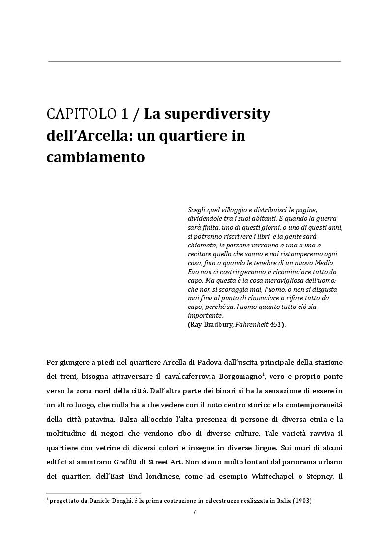 Anteprima della tesi: Rigenerazione urbana ed editoria: la libreria Limerick nel quartiere Arcella di Padova, Pagina 3