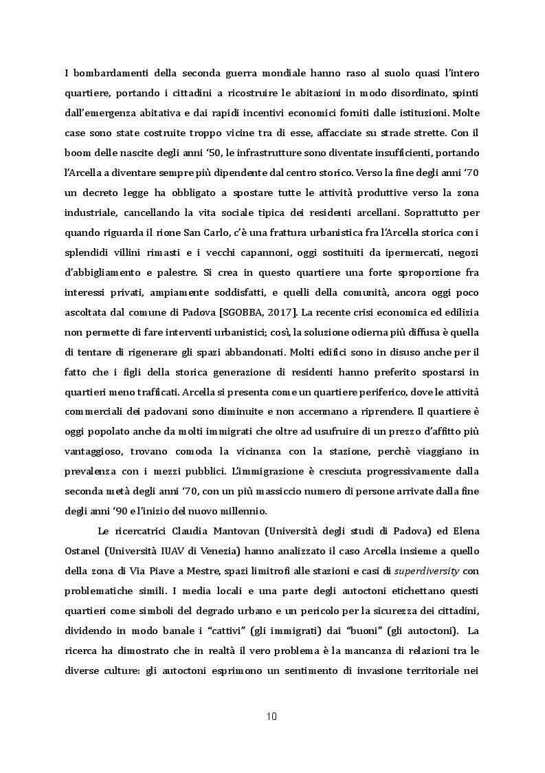 Anteprima della tesi: Rigenerazione urbana ed editoria: la libreria Limerick nel quartiere Arcella di Padova, Pagina 6