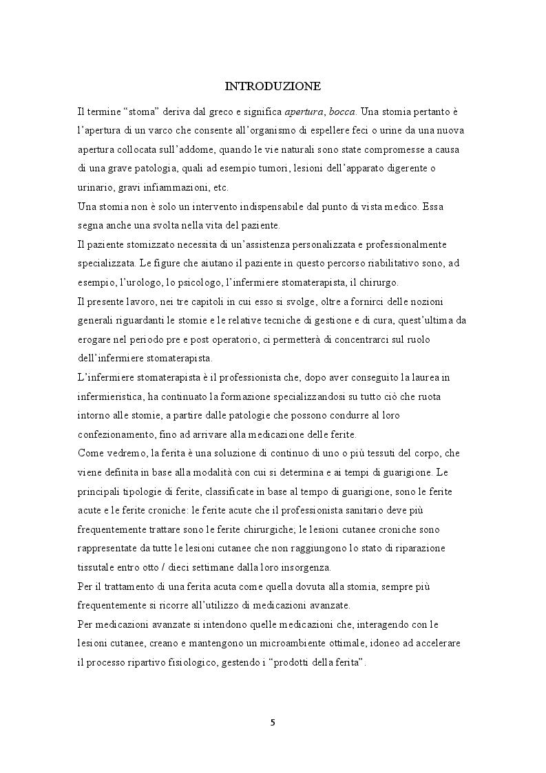 Anteprima della tesi: Lesioni peristomali. Prevenzione, trattamento, educazione del caregiver, Pagina 2