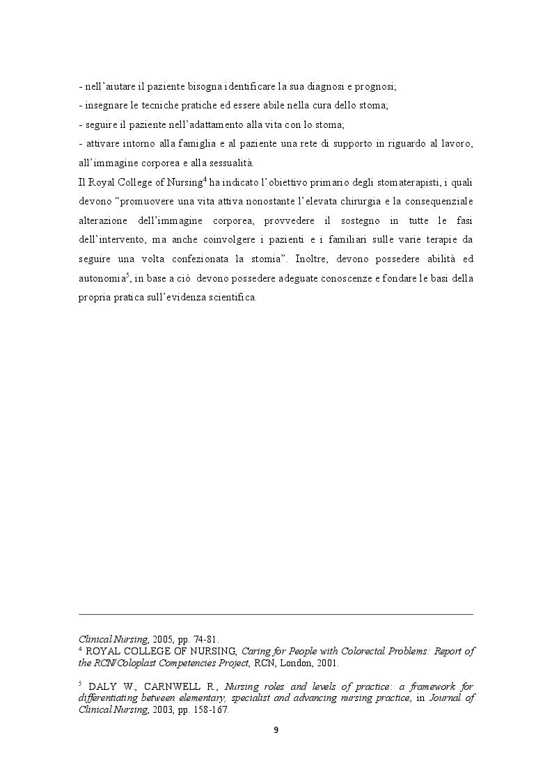 Anteprima della tesi: Lesioni peristomali. Prevenzione, trattamento, educazione del caregiver, Pagina 6