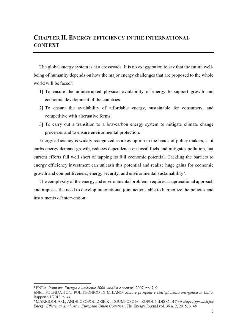 Anteprima della tesi: The role of energy efficiency for a secure, competitive and sustainable energy, Pagina 5