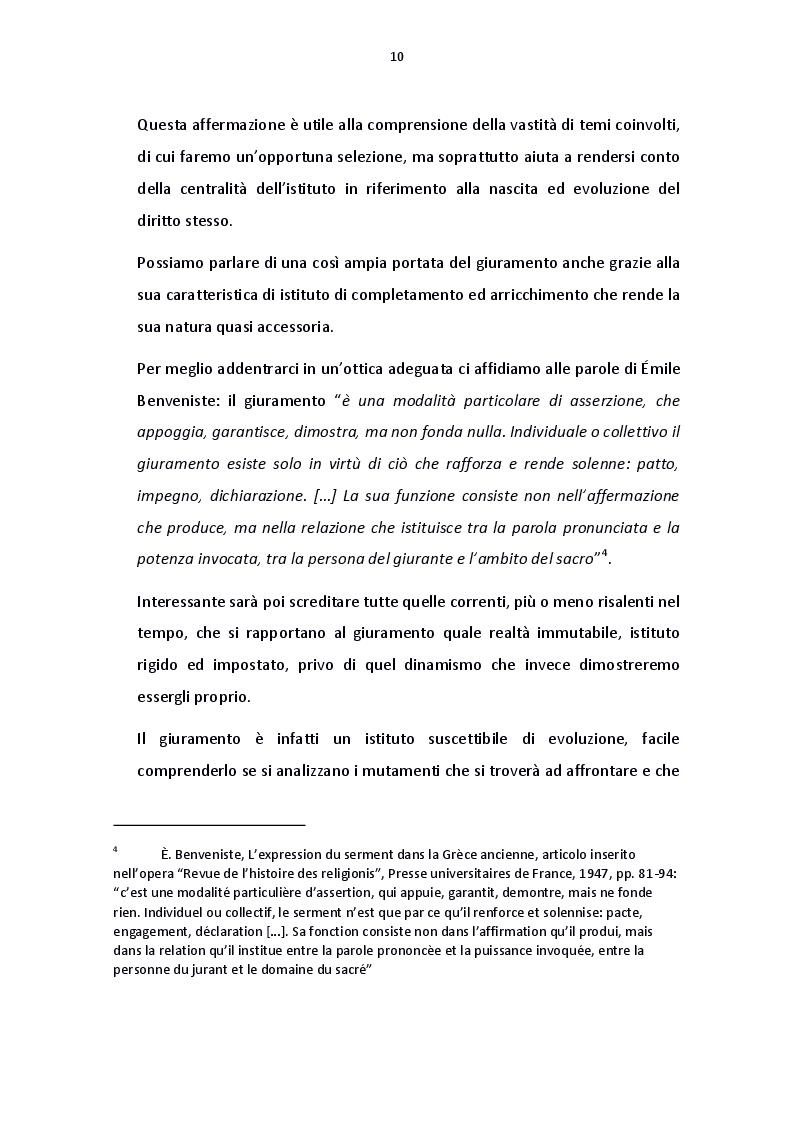 Anteprima della tesi: Il giuramento del diritto canonico, Pagina 3