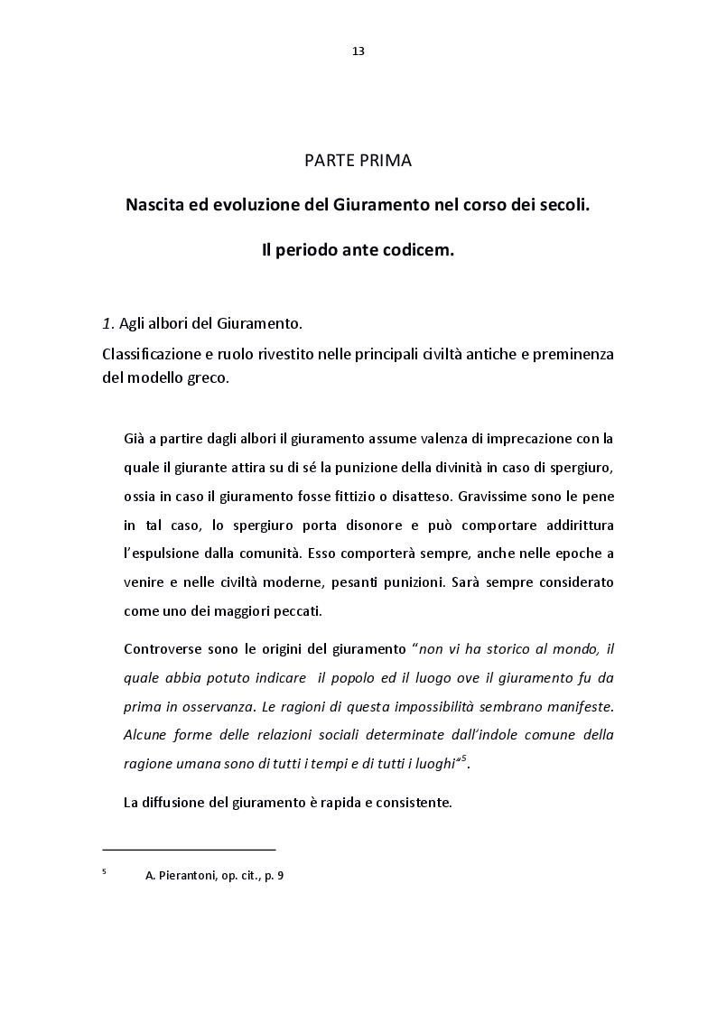 Anteprima della tesi: Il giuramento del diritto canonico, Pagina 5