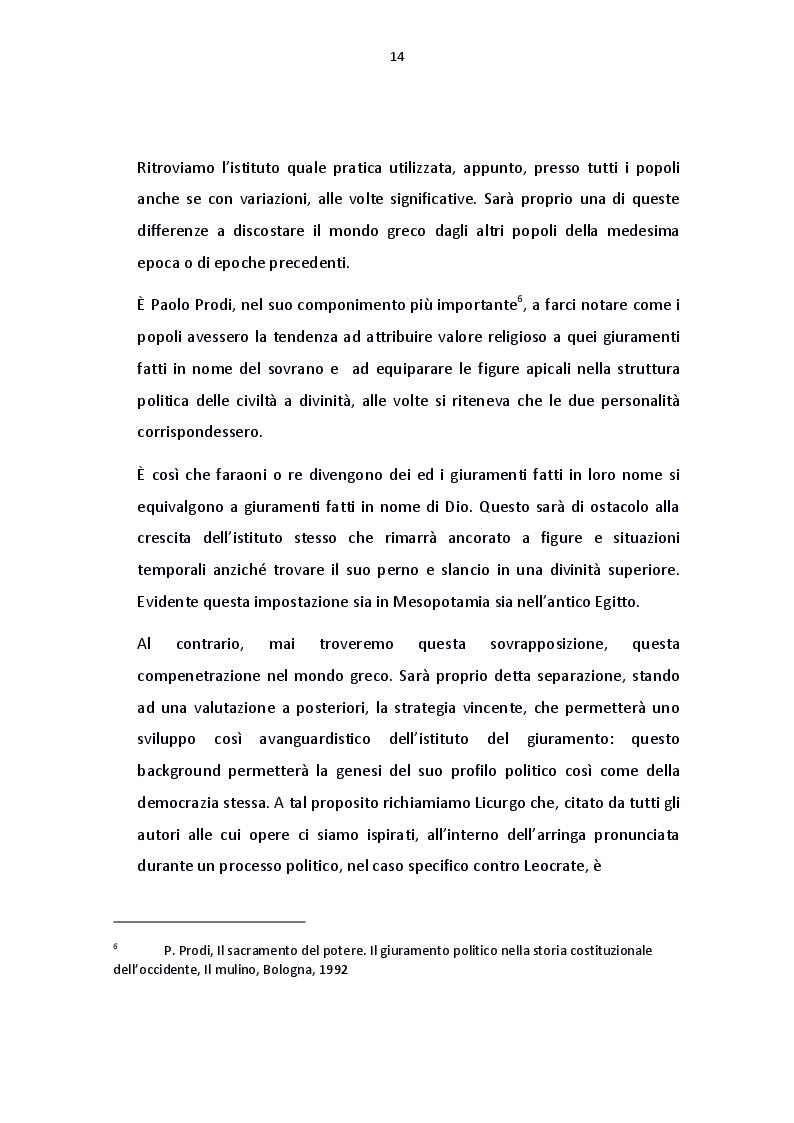 Anteprima della tesi: Il giuramento del diritto canonico, Pagina 6