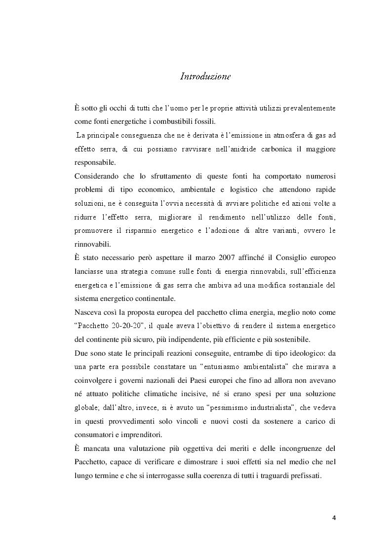 Anteprima della tesi: Strumenti e tecniche per il risparmio energetico nell'edilizia civile, Pagina 2