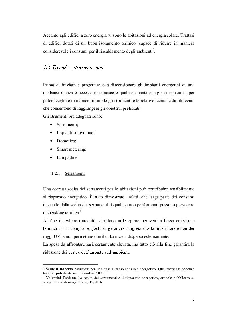 Anteprima della tesi: Strumenti e tecniche per il risparmio energetico nell'edilizia civile, Pagina 5