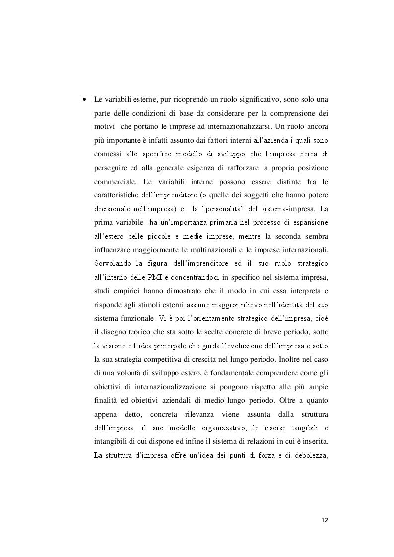 Estratto dalla tesi: Modelli e strategie di internazionalizzazione: il caso Angelini Acraf S.p.A