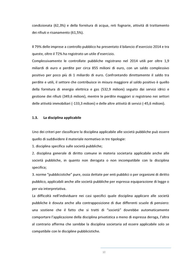 Anteprima della tesi: La valutazione del rischio di crisi  nelle società a controllo pubblico, Pagina 9