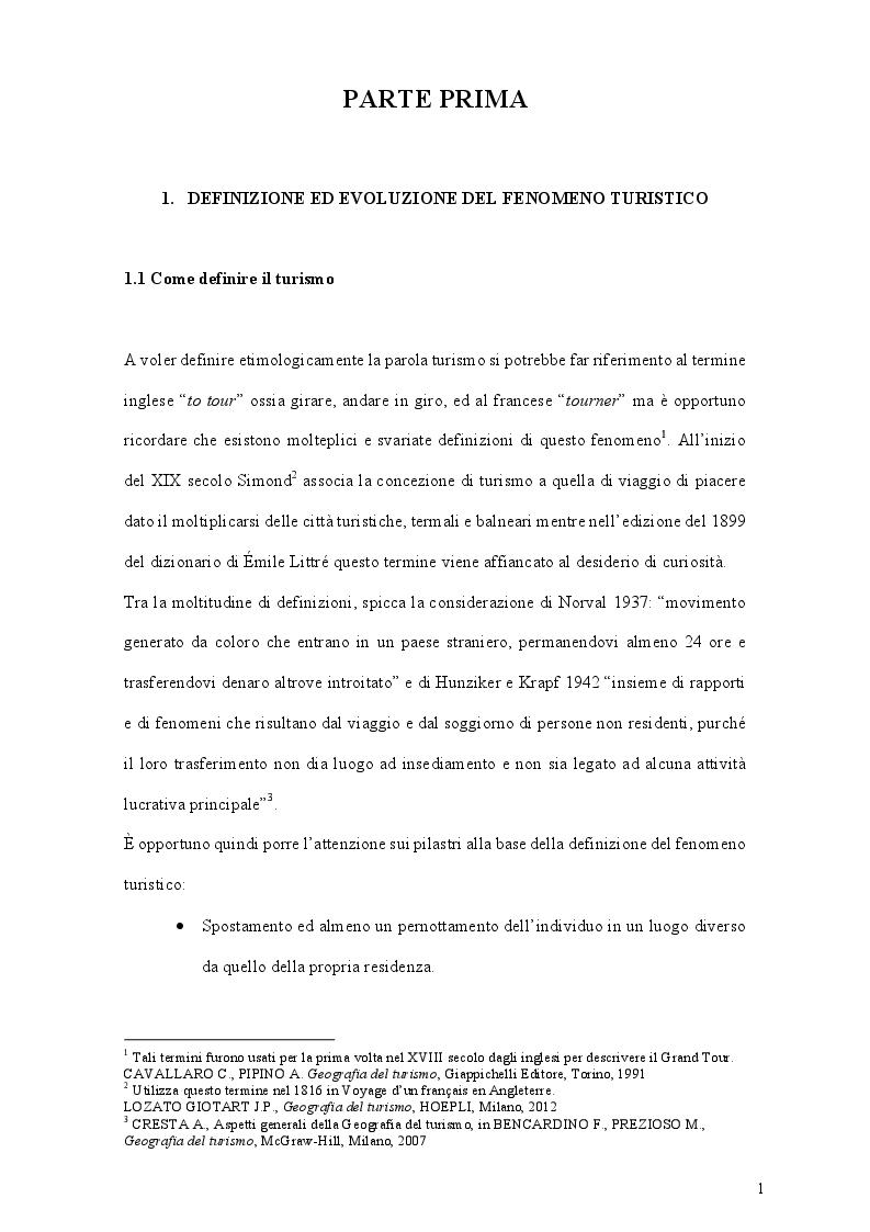 Anteprima della tesi: Espansione ed originalità del turismo crocieristico: le nuove realtà dei resorts galleggianti, Pagina 4